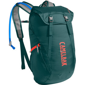 CamelBak Arete 18 Hydration Pack deep teal/hot coral